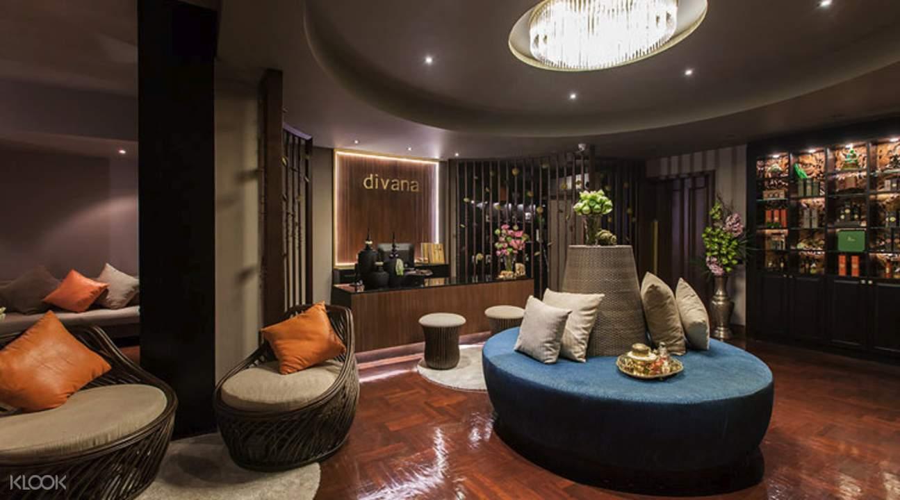 welcome drink Divana Nurture Spa in Sukhumvit 11 Bangkok Thailand